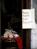 Pasta Shop, Assisi, Umbria, Italy Photographic Print by Marilyn Parver