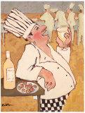 Chardonnay Tasting Prints by Carole Katchen