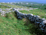 Rock Walls, Aran Island, Inishmore, Ireland Photographic Print by Marilyn Parver