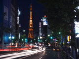 Tokyo Tower, Roppongi, Tokyo, Japan Photographic Print by Rob Tilley