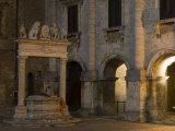 Palazzo Tarugi, Piazza Grande, Montepulciano, Val D'Orcia, Siena Province, Tuscany, Italy Photographic Print by Sergio Pitamitz