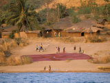 Fishing Village, Lake Tanganyika, Mahale Mountain, Tanzania Photographic Print by Marilyn Parver