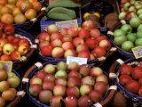 Apples For Sale, Nasch Market, Vienna, Austria Photographic Print by Marilyn Parver