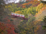 Cable Railway, Kyoto, Japan Photographic Print by Shin Terada