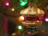Christmas Tree Ornaments Photographic Print by Savanah Stewart