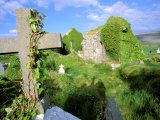 Drumcheehy Church, County Clare, Ballyvaughan, Ireland Photographic Print by Marilyn Parver