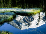 Mt. Rainier Reflected in Reflection Lake, Washington, USA Photographic Print by Charles Sleicher