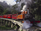 Puffing Billy Train, Mt. Dandenong, Australia Photographic Print by Douglas Peebles