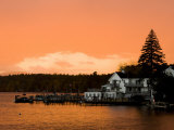 Sunset in Wolfeboro, New Hampshire, USA Photographic Print by Jerry & Marcy Monkman