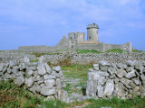 Dun Aengus Fort, Aran Island, Inishmore, Ireland Photographic Print by Marilyn Parver