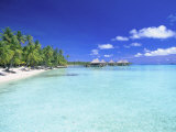 Kia Ora Village, Rangiroa, French Polynesia Photographic Print by Douglas Peebles