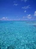 Ocean, French Polynesia Photographic Print by Douglas Peebles
