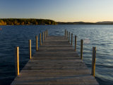 View of Lake Winnipesauke, Wolfeboro, New Hampshire, USA Fotografie-Druck von Jerry & Marcy Monkman