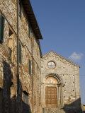 San Leonardo Church, Montefollonico, Val D'Orcia, Siena Province, Tuscany, Italy Photographic Print by Sergio Pitamitz