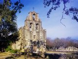 Mission Espada, Missions National Historic Park, San Antonio, Texas, USA Photographic Print by Rolf Nussbaumer