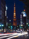 Tokyo Tower, Roppong, Tokyo, Japan Photographic Print by Rob Tilley