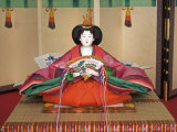 Japanese Style Doll, Kyoto, Japan Photographic Print by Shin Terada