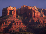 Cathedral Rock at Sunset, Sedona, Arizona, USA Photographic Print by Charles Sleicher