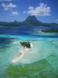 Bora Bora, French Polynesia Photographic Print by Douglas Peebles