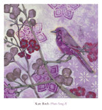 Plum Song II Posters by Kate Birch