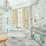 Salle de Bains II Prints by Sarah Mcguire