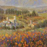 Provencal Village VII Prints by Michael Longo