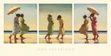 Días de verano Lámina por Jack Vettriano