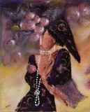 Elégantes aux Perles I Prints by  Johanna