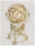 Old World Globe Art by Sam Appleman
