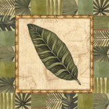 Tropical Leaf III Poster by Charlene Audrey
