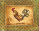 Country Rooster II Plakater af Gregory Gorham