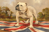The British Bulldog Posters by  19th Century Chinese School