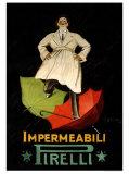 Impermeaabili Pirelli Giclee Print by Leonetto Cappiello