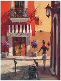 La Bonne Vie Poster by Brent Heighton