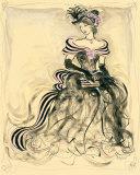 Bellezza in rosa III Poster di Karen Dupré