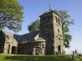 St. Anne's Episcopal Church, Kennebunkport, Maine, USA Stampa fotografica di Lisa S. Engelbrecht