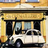La 2 CV de la Crémaillère Print by Julien Lautier