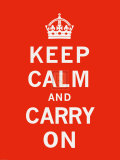 Keep Calm and Carry On II Posters by  The Vintage Collection