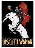 Biscotti Wamar Giclee Print by Leonetto Cappiello