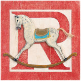 R is for Rocking Horse Art by Arnie Fisk