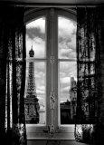 Fenêtre sur Paris Plakater af Mauricio Hellerdani
