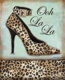 Leopard Shoe Plakater af Todd Williams