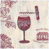Chateau Rouge Prints by Stefania Ferri