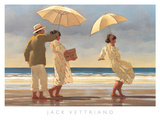 The Picnic Party II Poster di Vettriano, Jack