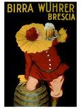 Birra Wuhrer Giclee Print by Leonetto Cappiello