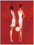 Fashionista I Posters by Deb Garlick