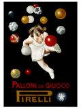 Pirelli Palloni da Giuoco Giclee Print by Leonetto Cappiello