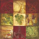 Tuscan Wine I Posters par Gregory Gorham