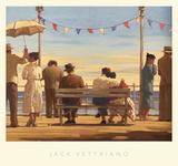 Jack Vettriano - Přístavní hráz, The Pier, Vettriano Obrazy