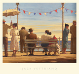 The Pier Prints by Jack Vettriano